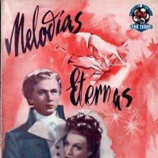 Cine: MELODÍAS ETERNAS (BISTAGNE, S.F.) CONCHITA MONTENEGRO. Lote 155744198