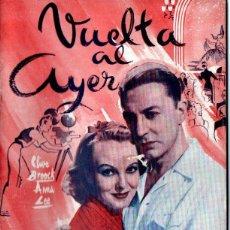 Cine: VUELTA AL AYER (BISTAGNE, S.F.). Lote 155744490