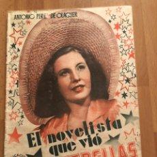Cine: EL NOVELISTA QUE VIO LAS ESTRELLAS.ANTONIO PEREZ DE OLAGUER. Lote 157713353