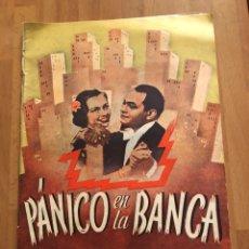 Cine: PÁNICO EN LA BANCA.EDWARD G ROBINSON. Lote 157713737