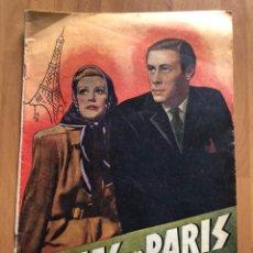 Cine: 10 DÍAS EN PARIS.REX HARRISON. Lote 157713852