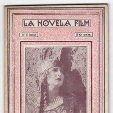 Cine: LA ÍLIADA, DE HOMERO. EDY DARCLEA, WLADIMIR GAIDAROW. LA NOVELA FILM Nº 37 ESPECIAL. Lote 158114986