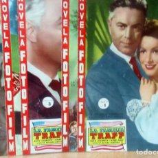 Cine: LA FAMILIA TRAPP NOVELA FOTO FILM COMPLETA 5 FASCICULOS CON FOTOGRAMAS FHER 1958. Lote 160747214