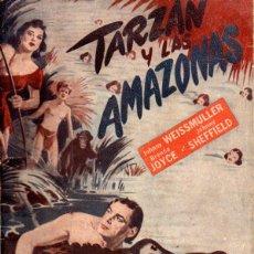 Cine: JOHNNY WEISSMULLER : TARZÁN Y LAS AMAZONAS (BISTAGNE). Lote 163430685