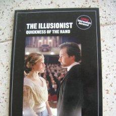 Cine: ARGUMENTO DE LA PELICULA THE ILLUSIONIST DE SPEAK UP EN INGLES RBA EDICIONES. Lote 164062302