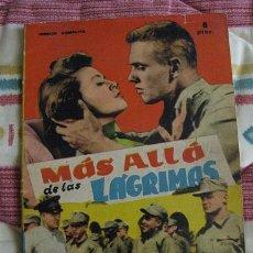 Cine: MAS ALLA DE LAS LAGRIMAS (COLECCION FOTOFILM DE BOLSILLO Nº18) ¡¡LEER DESCRIPCION!!. Lote 164949726