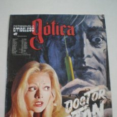 Cine: DOCTOR SATAN - FOTONOVELA EMBELESO GOTICA ROLLAN 1973 // GIALLO TERROR MISTERIO SERIE B HAMMER. Lote 166122686