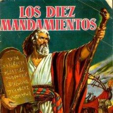Cine: LOS DIEZ MANDAMIENTOS. ÁLBUM DE LA PELÍCULA COMPLETO. 210 FOTOCROMOS DE GRAN CALIDAD.. Lote 166639674