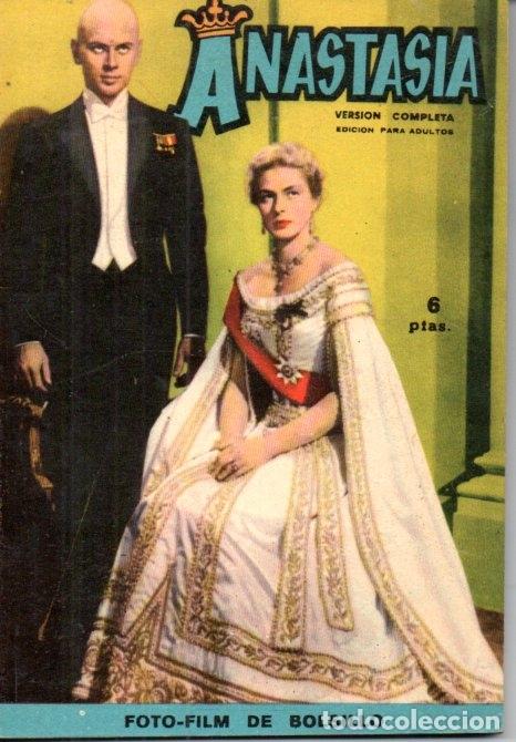 FOTO FILM DE BOLSILLO Nº 6 : ANASTASIA (1959) (Cine - Foto-Films y Cine-Novelas)