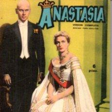 Cine: FOTO FILM DE BOLSILLO Nº 6 : ANASTASIA (1959). Lote 169721704
