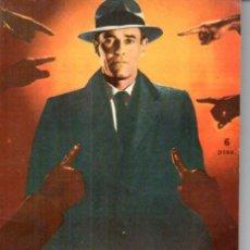 Cine: FOTO FILM DE BOLSILLO Nº 21 : FALSO CULPABLE (1959). Lote 169721760