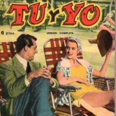 Cine: FOTO FILM DE BOLSILLO Nº 5 : TU Y YO (1959). Lote 169721824