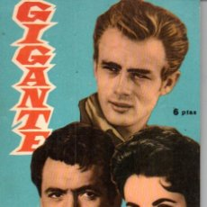 Cine: FOTO FILM DE BOLSILLO Nº 11 : GIGANTE (1959). Lote 169721860