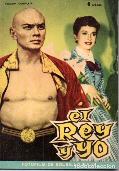 FOTO FILM DE BOLSILLO Nº 12 : EL REY Y YO (1959) (Cine - Foto-Films y Cine-Novelas)