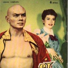 Cine: FOTO FILM DE BOLSILLO Nº 12 : EL REY Y YO (1959). Lote 169722108