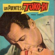 Cine: FOTO FILM DE BOLSILLO Nº 16 : LOS PUENTES DE TOKO RI (1959). Lote 169722156