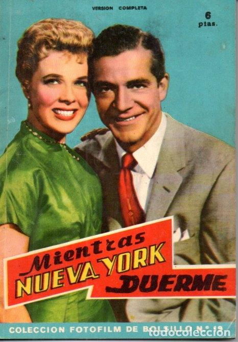 FOTO FILM DE BOLSILLO Nº 19 : MIENTRAS NUEVA YORK DUERME (1959) (Cine - Foto-Films y Cine-Novelas)