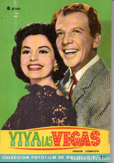 FOTO FILM DE BOLSILLO Nº 15 : VIVA LAS VEGAS (1959) (Cine - Foto-Films y Cine-Novelas)