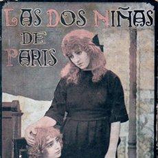 Cine: P. CARTOUX / LOUIS FEUILLADE : LAS DOS NIÑAS DE PARIS (LES DEUX GAMINES) - GAUMONT, 1921. Lote 169916456