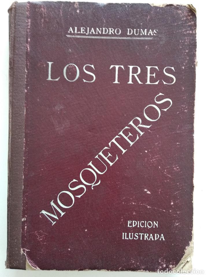 LOS TRES MOSQUETEROS, ALEJANDRO DUMAS - PUBLICACIONES RÁFOLS - NOVELA CON ILUSTRACIONES CINEMATOGRÁF (Cine - Foto-Films y Cine-Novelas)