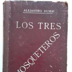 Cine: LOS TRES MOSQUETEROS, ALEJANDRO DUMAS - PUBLICACIONES RÁFOLS - NOVELA CON ILUSTRACIONES CINEMATOGRÁF. Lote 169984952