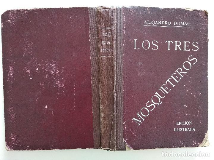 Cine: LOS TRES MOSQUETEROS, ALEJANDRO DUMAS - PUBLICACIONES RÁFOLS - NOVELA CON ILUSTRACIONES CINEMATOGRÁF - Foto 2 - 169984952