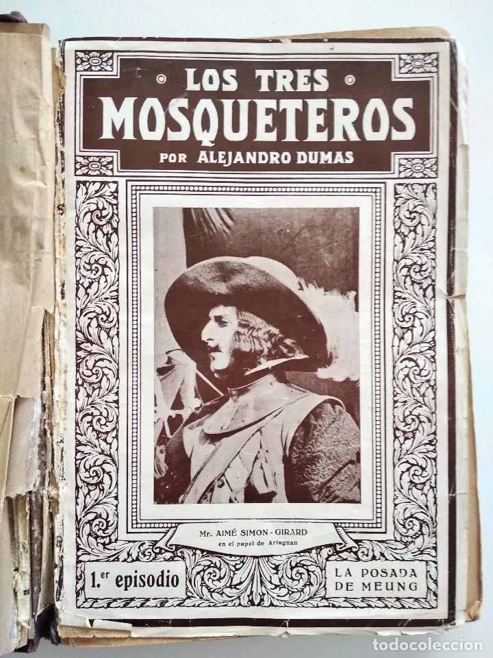Cine: LOS TRES MOSQUETEROS, ALEJANDRO DUMAS - PUBLICACIONES RÁFOLS - NOVELA CON ILUSTRACIONES CINEMATOGRÁF - Foto 3 - 169984952