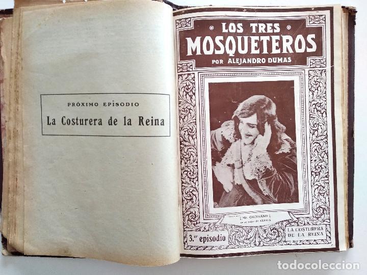 Cine: LOS TRES MOSQUETEROS, ALEJANDRO DUMAS - PUBLICACIONES RÁFOLS - NOVELA CON ILUSTRACIONES CINEMATOGRÁF - Foto 4 - 169984952