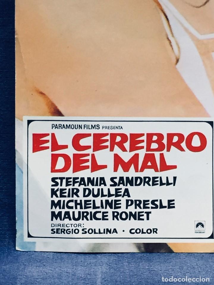 Cine: PARAMOUN FILMS EL CEREBRO DEL MAL SANDRELLI DULLEA SOLLINA 33X24CMS - Foto 2 - 170080448