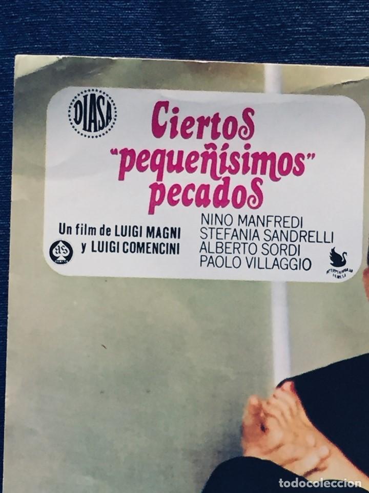 Cine: publicidad película ciertos pequeñísimos pecados film luigi magni nino manfredi alberto sordi - Foto 11 - 170149296