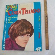 Cine: CORIN TELLADO, 3 FOTONOVELAS COMPLETAS EN UN TOMO, AÑO 1969. SELENE DESIREE, SAYONARA. Lote 171466987