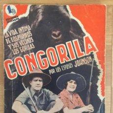 Cinema: CONGORILA - EDICIONES BISTAGNE - GCH. Lote 171963654
