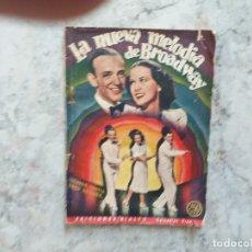 Cine: LA NUEVA MELODIA DE BROADWAY, COLECCION CINE-EDICIONES RIALTO, Nº 52, 1944. Lote 172949935