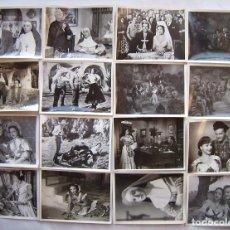 Cine: LOLA FLORES, 16 FOTOS ORIGINALES DE ESCENAS 18 X 24,5 CMS... Lote 173870837
