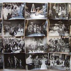 Cine: LOLA FLORES, 19 FOTOS ORIGINALES DE ESCENAS SOBRE 18 X 24 CMS... Lote 173871325