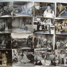 Cine: LOLA FLORES, 16 FOTOS ORIGINALES DE ESCENAS. SOBRE 18 X 24 CMS... Lote 173878958