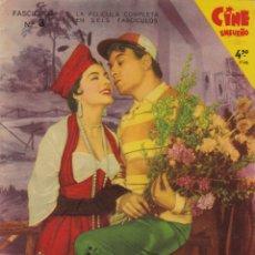 Cine: CINE ENSUEÑO FASCICULO Nº 3 AQUELLOS TIEMPOS DEL CUPLE LA PELICULA COMPLETA EN SEIS FASCICULOS. Lote 174399919