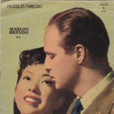 Cine: PELICULAS FAMOSAS SAYONARA EDITORIAL FHER MARLON BRANDO VERSION COMPLETA . Lote 174400844