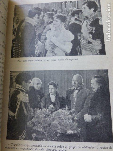 Cine: PELICULA 1944 NAPOLEON MARIA WALEWSKA GRETA GARBO CHARLES BOYER NOVELA CON FOTOS BIBLIOTECA RIALTO - Foto 3 - 175868064