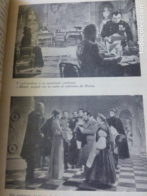 Cine: PELICULA 1944 NAPOLEON MARIA WALEWSKA GRETA GARBO CHARLES BOYER NOVELA CON FOTOS BIBLIOTECA RIALTO - Foto 4 - 175868064