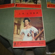 Cine: LA NOVELA CINEMATOGRAFICA DE EDITORIAL MOLINO DEL 1 AL 25. Lote 177318103