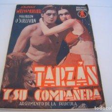 Cine: TARZAN Y SU COMPAÑERA. Lote 177727325