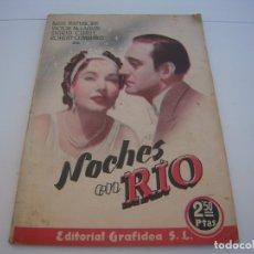 Cine: NOCHES EN RIO. Lote 177727665
