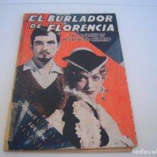 Cine: EL BURLADOR DE FLORENCIA. Lote 177727822