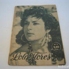 Cine: LOLA FLORES COLECCION IDOLOS DEL CINE. Lote 177798629