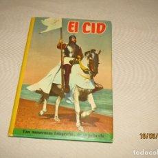 Cine: ANTIGUO EL CID. COLECCIÓN CINEXITO Nº 4. EDITORIAL FELICIDAD, 1963. TAPA DURA CON SOBRECUBIERTA. Lote 177867413