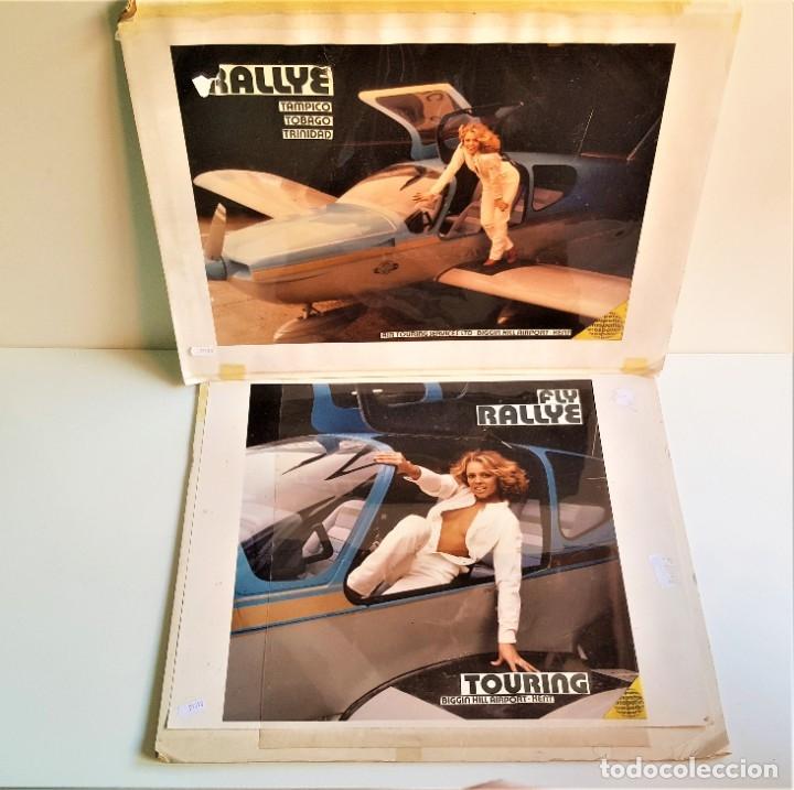 DOS FOTOS GRAN TAMAÑO BIGGIN HILL (CHICA JAMES BOND 007) - 54X44.CM APROX (Cine - Foto-Films y Cine-Novelas)