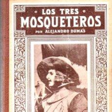Cine: LOS TRES MOSQUETEROS - CON FOTOGRAFÍAS DEL FILM DE 1932 . Lote 178794211