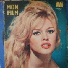 Cine: BRIGITTE BARDOT REVISTA FRANCESA MON FILM CON LA FOTONOVELA DE LA PELÍCULA ...Y DIOS CREÓ LA MUJER. Lote 178984043