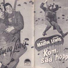 Cine: 10 GUÍAS DE CINE DANESAS DE JERRY LEWIS CON ARGUMENTO Y FOTOS. Lote 180081006